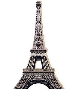 APM8-093 - Aplique Em Papel E MDF - Torre Eiffel