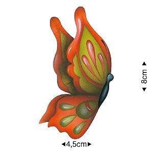 APM8-1282 - Aplique Em Papel E MDF - Borboleta