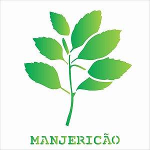 Stencil 14X14 Simples – Tempero Manjericão – OPA 2016