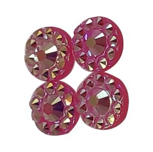 Cartela De Strass Para Shake Box Rosa 4 mm