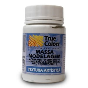 Massa de Modelagem Textura Artística True Colors 80 ml