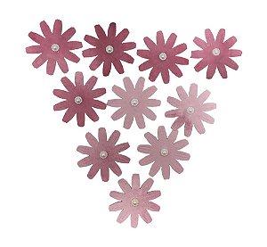 Flores de Papel Artesanal Marsala 10 Pétalas Gabi Paoletti