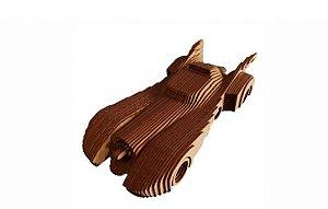 Batmóvel 3D a Laser Em MDF 100% Qualidade Decoração