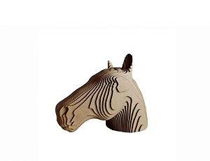 Cavalo 3D Laser Em MDF 100% Qualidade Decoração