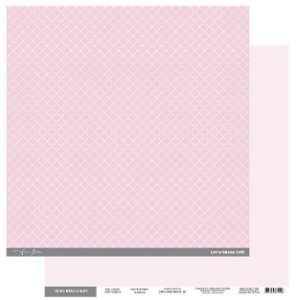 Papel Scrapbook - Scrap By Antonio Linha Básica Soft Rosa Clássico 200427