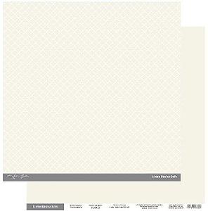 Papel Scrapbook - Scrap By Antonio Linha Básica Soft Marfim Clássico 200433