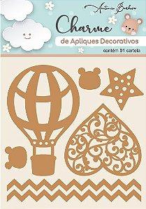 Charme de Apliques Decorativos MDF Baby Elementos