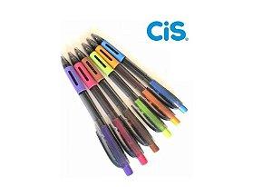 Caneta Esferográfica Side Click 0.7 mm Kit Com 6 Cores