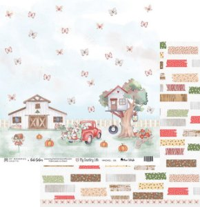 Papel My Memories Para Scrapbook - My Country Life - MMCMCL-06