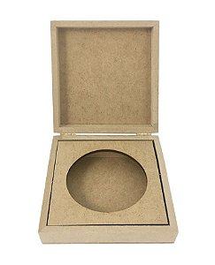 Caixa Articulada Porta Sabonete Decoração em MDF