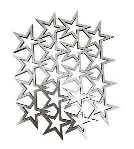 Apliques Estrela Vazado Metalizado - Gabi Paoletti
