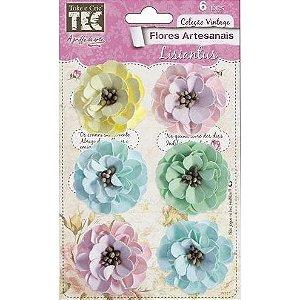 Flores Artesanais Feito a Mão Lisiantus Marshmallow 114 TEC