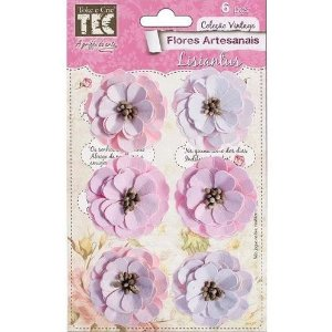 Flores Artesanais Feito a Mão Lisiantus Delicada FLOR110 TEC