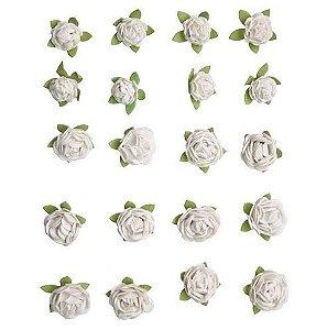 Flores Artesanais Mini Pureza Coleção Vintage Flor87 TEC