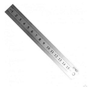 Régua de Metal Apex - 15 cm