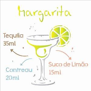 Stencil Simples 30,5 x 30,5 Drink Margarita - Opa 2196