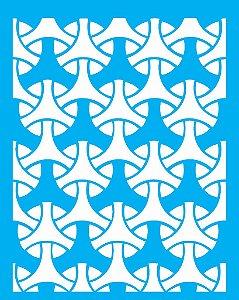 Stencil 20X25 Simples Estamparia Tramas - Opa 2271