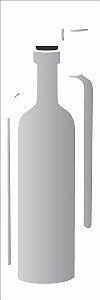 Stencil OPA Simples 10 x 30 cm 1790 Garrafa