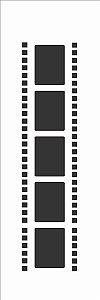 Stencil OPA Simples 10 x 30 cm 023 Filme 1