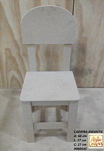 Cadeira Infantil Em MDF