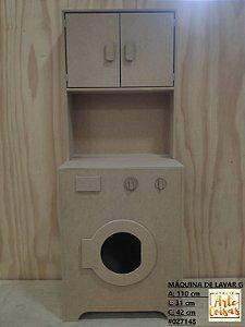 Máquina de Lavar Infantil G Em MDF