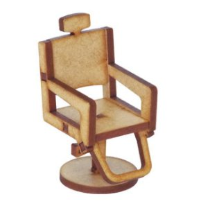 Miniatura Cadeira De Cabelereiro A098
