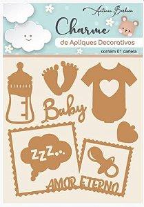 Charme de Apliques Decorativos MDF Baby II 200520