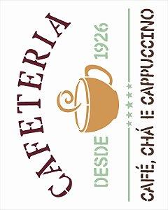 Stencil 20x25 Culinaria Cafeteria - OPA 3045