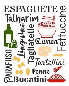 Stencil 20x25 Culinaria Estamparia Massas - OPA 3039
