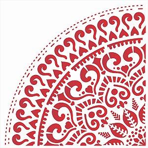 Stencil 30,5X30,5 – Mandala GR Coração - OPA 2593