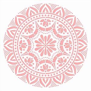 Stencil 30,5X30,5 – Mandala Renda I- OPA 2596