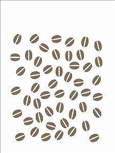 Stencil 15x20 Estamparia Café - OPA 759