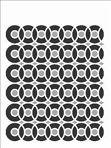 Stencil 15x20 Estamparia Discos - OPA 2440