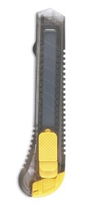 Estilete Plástico TRIS T016 Lâmina Larga