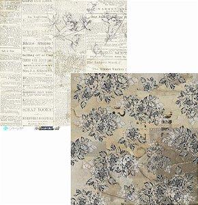 Papel Scrapbook Carina Sartor - Coleção Hypster Style - HYP-04