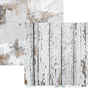 Papel Scrapbook Carina Sartor - Coleção Essencial Texture - TEX-04