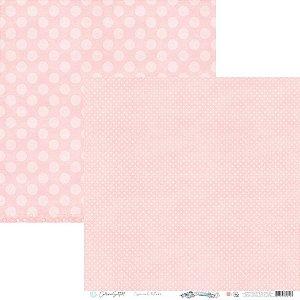 Papel Scrapbook Carina Sartor - Coleção Básico Rose Relax - BASE-32