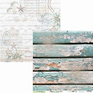 Papel Scrapbook Carina Sartor - Coleção Little Star - LIS-03