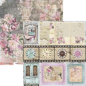 Papel Scrapbook Carina Sartor - Coleção Essence Of Life - EOL-05