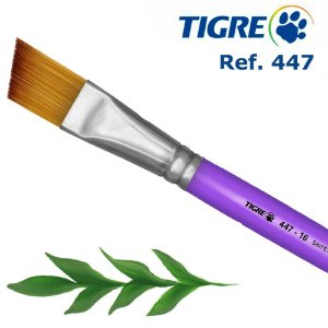 Pincel Chanfrado Tigre 447 08