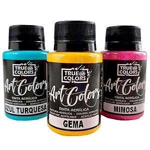 Tinta Acrílica Art Colors True Colors Tons Frios 60 ml