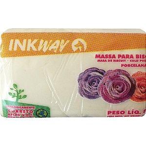 Massa Biscuit Branco Inkway 400 gr