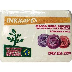 Massa Biscuit Branco Inkway 900 gr