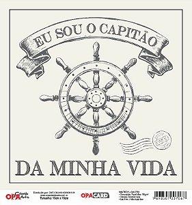 Papel Scrapbook 180g OPA 15x15 cm - OPACARD 2760 Náutico 1
