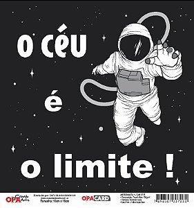 Papel Scrapbook 180g OPA 15x15 cm - OPACARD 2775 Astronauta 1