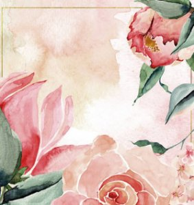 Papel Scrapbook 180g Arte Fácil 15x15 cm - Card CD-049 O melhor lugar é onde tem amor
