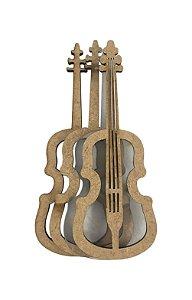 Kit Shaker Box Violino P - 7 cm - SB18P