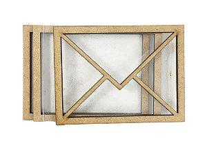 Kit Shaker Box Envelope Cartas P - 7 cm - SB24P