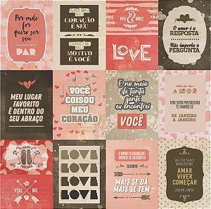 Adesivo Love - Adesivo 30,5x30,5 cm - SC-909