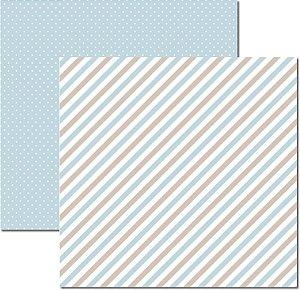 Papel Para Scrapbook Dupla Face 30,5x30,5 cm Arte Fácil - SC-511 - Básico 1